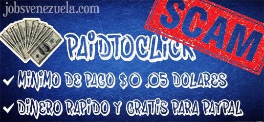 PaidToClick ¡Es una ESTAFA! - Jobs Venezuela
